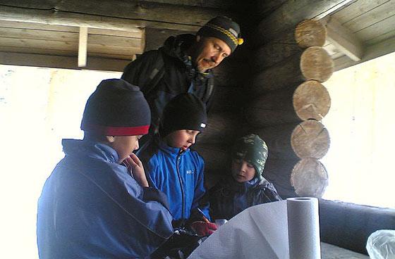 Sinisen Polun hiihto 2011