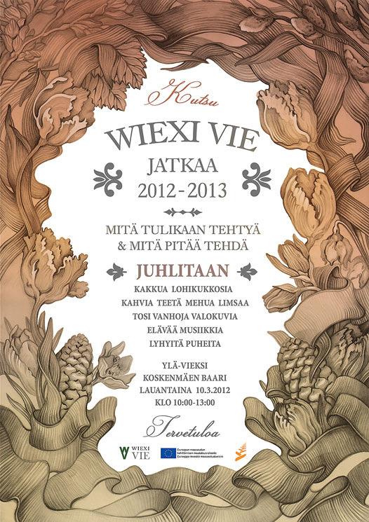 Wiexi Vie jatkaa -juliste