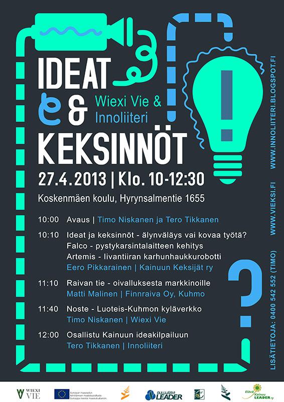Ideat & keksinnöt 2013