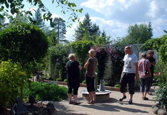 Avoin puutarha 2013