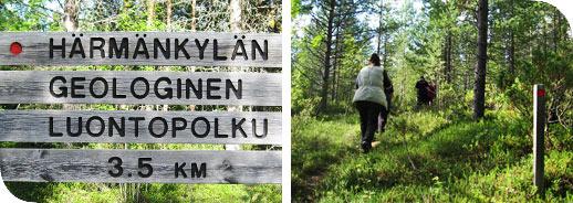 Härmänkylän geologinen luontopolku