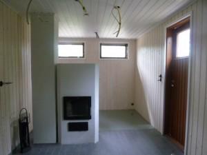 Entinen sauna ja kiukaan paikka
